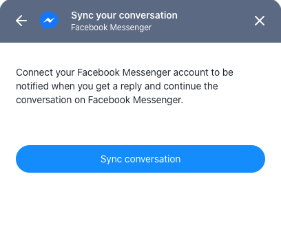 Send to Messenger