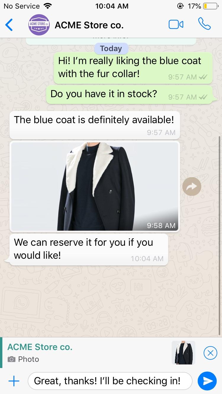 Smooch Docs | WhatsApp